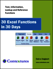 30 Excel Functions in 30 Days