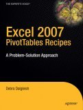 Excel 2007 Pivot Table Recipes