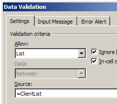data validation source