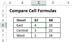 start the check formulas grid