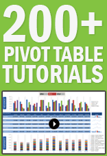 xtreme pivot table training