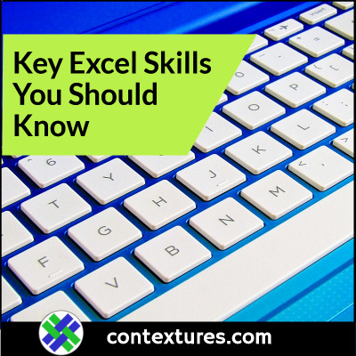 learn these key excel skills